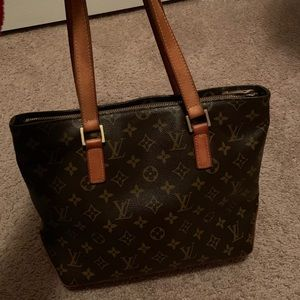 364fa4043ca5 Louis Vuitton · 100% Authentic LV CABAS PIANO SHOULDER TOTE BAG!